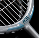 Dunlop ACS - Advanced Control System construction for badminton racket