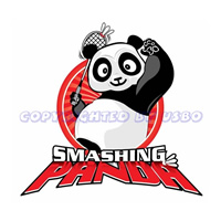 Bay Area Junior Open 2009 Smashing Panda Tournament T-Shirt