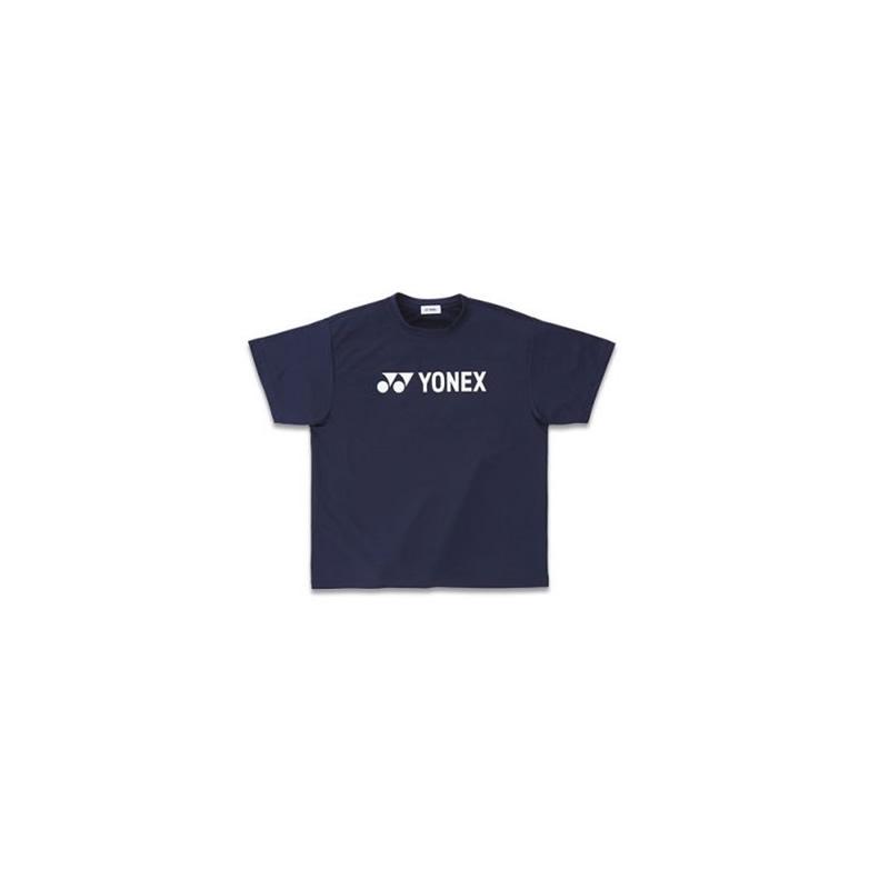 yonex logo badminton tshirt color navy