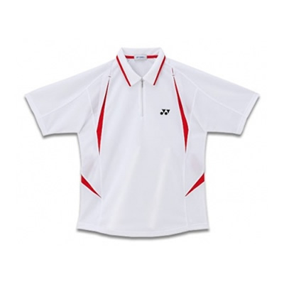 Yonex Performance Polo Shirt 1911 (White/Red)
