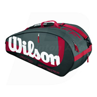 Wilson Pro Staff 6 (Six) Grey Bag (WRZ-844200)