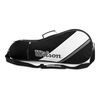 Wilson Triple Black Bag