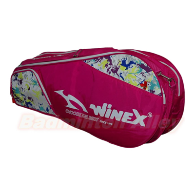 WINEX B-018 Pink Badminton Tennis Thermal Bag