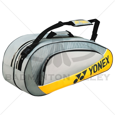 Yonex 5426EX Gray Yellow Badminton Tennis Racket Bag