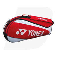 Yonex 7223 Red Badminton Tennis 3 Rackets Bag