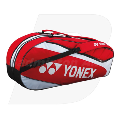 Yonex 7226 Red Badminton Tennis 6 Rackets Bag