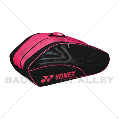Yonex 8029-EX Black Magenta Tournament Active Badminton Tennis Bag