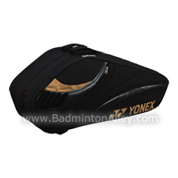 Yonex 8226-EX Black Gold Tournament Active Badminton Tennis Thermal Bag