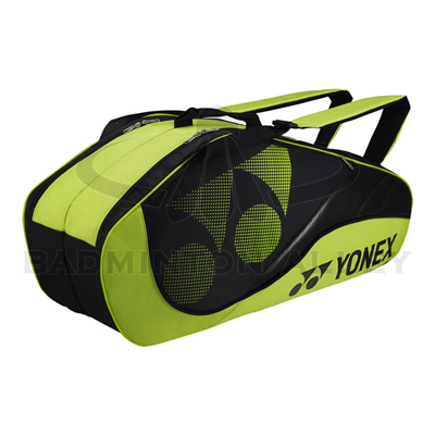Yonex 8326-EX Lime Green Tournament Active Badminton Tennis Thermal Bag