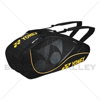 Yonex 8426-EX Black Yellow Tournament Active Badminton Tennis Thermal Bag