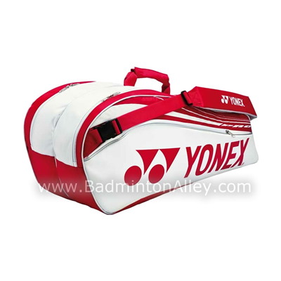 Yonex 9226EX White Red Pro Badminton Tennis Thermal Bag