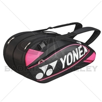 Yonex 9526EX Black Rose Pink Pro Badminton Tennis Racket Thermal Bag
