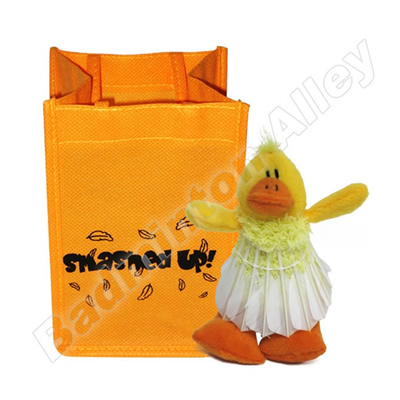 Smashed Up Duck Badminton Souvenir Air Freshener