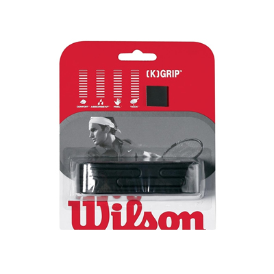 Wilson [K] Grip Black Replacement Grip (WRZ4837)