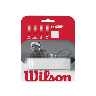 Wilson [K] Grip White Replacement Grip (WRZ4837)
