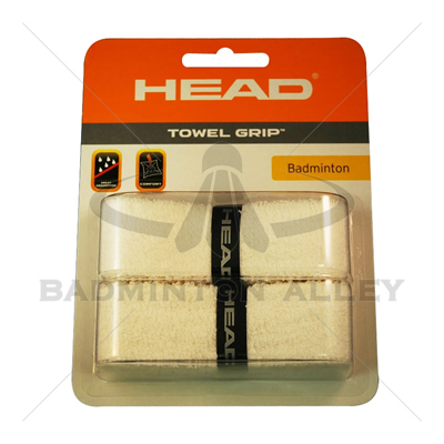 HEAD Towel Grip White ( Dual Packaging )