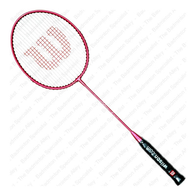 Wilson Hope Game Point Pale Violet Red Badminton Racket