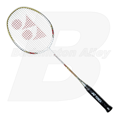 Yonex Nano Speed 100 White Red 2012 (NS100) Badminton Racket