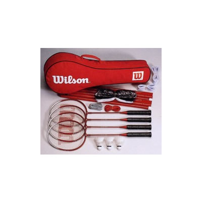 Wilson Tournament Recreational Outdoor Badminton Set