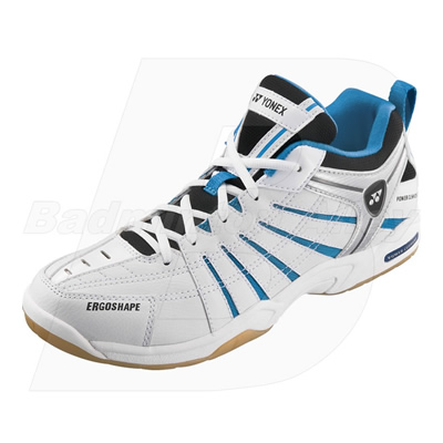 Yonex Power Cushion SHB-73EX 2011 White Light Blue Badminton Shoes