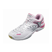 Yonex SHB-92LX 2010 White/Pink Ladies Badminton Shoes