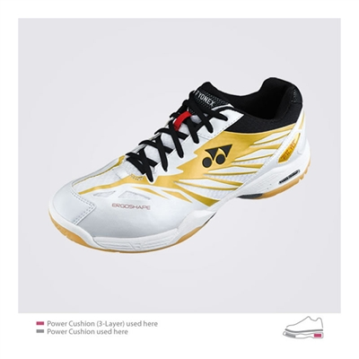 Yonex Power Cushion SHB-F1 LTD (SHBF1LTD) 2012 Black Gold Badminton Shoes
