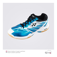Yonex Power Cushion SHB-F1 MX (SHBF1MX) Metallic Blue Men Badminton Shoes