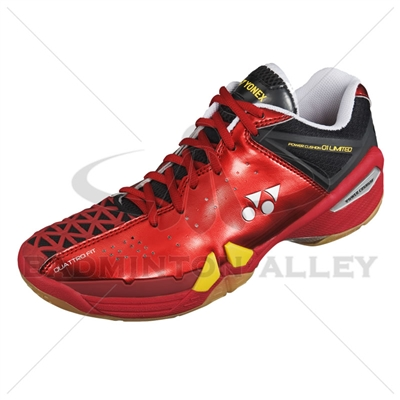 Yonex SHB-PC-01 LTD Flash Red Men Badminton Shoes