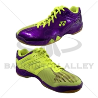Yonex SHB-PC-02 LTD Purple Yellow Badminton Shoes