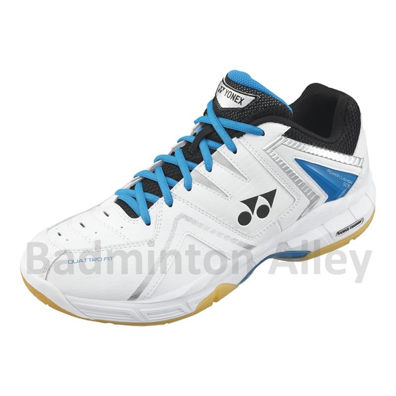 Brilliant Yonex Power Cushion SHBSC5EX 2011 White Gold Badminton Shoes