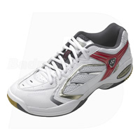 Yonex SHB-200EX White Red Badminton Shoes