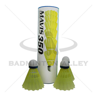 Yonex Mavis 350 Yellow (Medium Speed) Nylon Shuttlecock