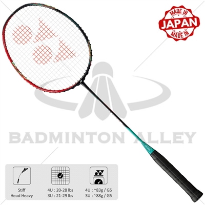 Yonex Astrox 88D Dominate (AX88D) Ruby Red Badminton Racket