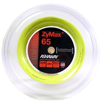 Ashaway ZyMax 65 (0.65mm) 200m/660ft Badminton String Reel - Yellow