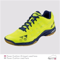 Yonex Power Cushion Aerus MX Bright Yellow Men Badminton Shoes