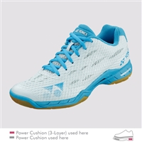 Yonex Power Cushion Aerus LX Pale Blue Women Badminton Shoes