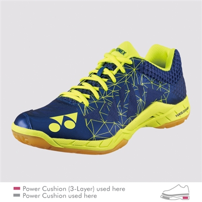 // Badminton Court Shoes Yonex Power Cushion Aerus 2 Men Red