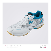 Yonex Power Cushion SHB-F1 LX (SHBF1LX) 2012 Aqua Blue Women Badminton Shoes