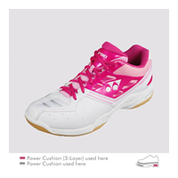 Yonex Power Cushion SHB-F1 Neo LX (SHBF1NLX) 2013 Bright Pink Women Badminton Shoes