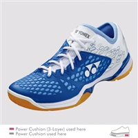 Yonex SHB-PC-03 Z LX Light Blue Ladies Badminton Shoes