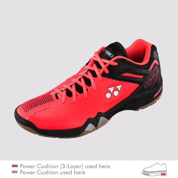 Yonex Shb  Ltd Red Badminton Shoes