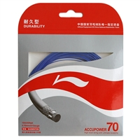 Li-Ning Accupower 70 Blue ( AP70 / AXJD044 / 10 meter / 33 feet / 0.70mm ) Badminton String